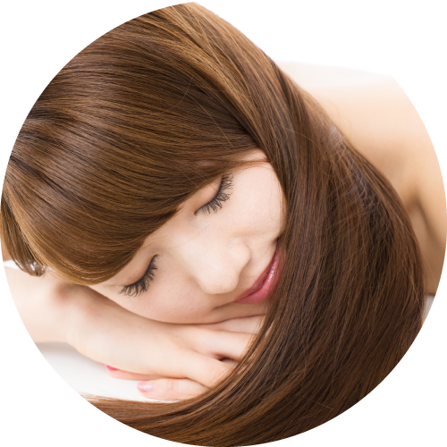 ふわヘアは、ボリュームアップの増毛エクステ